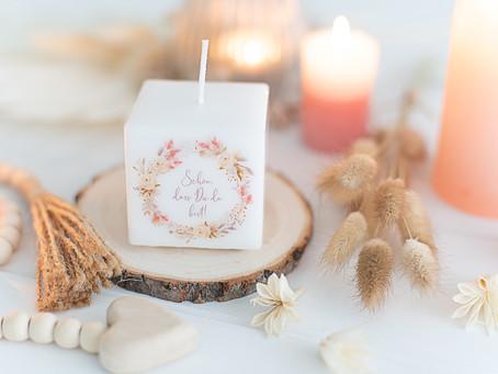 5 wunderschöne Gastgeschenke für deine Hochzeit