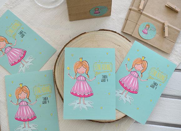 einladungskarten zum kindergeburtstag, kindergeburtstagskarten fee, einladungen personalisiert, mit namen, prinzessin