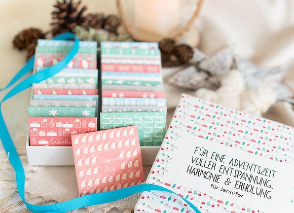 teeadventskalender, adventskalender mit tee, adventskalender pukka tee, personalisierter Adventskalender,