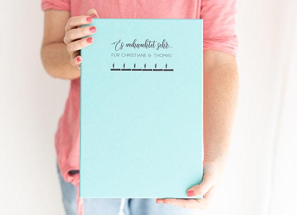 advetntskalender zum befüllen, adventskalender personalisiert,