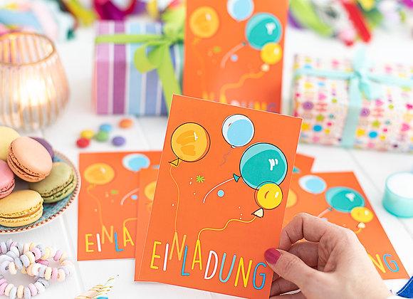 einladung kindergeburtstag, einladung junge, einladung mädchen, einladungskarten,