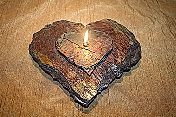 Unique Wedding Gift, Two hearts one flame, lifetime use