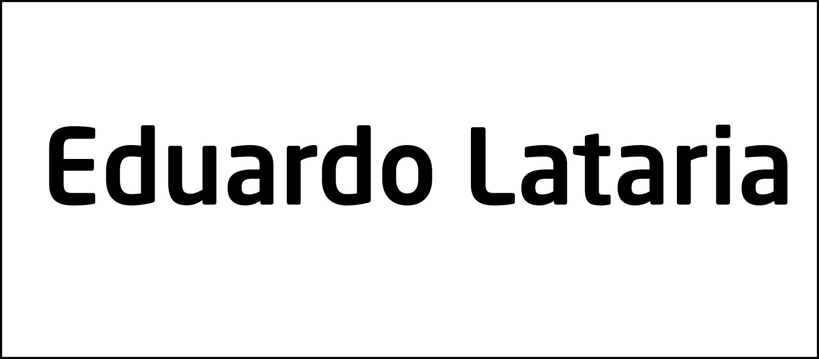 Eduardo Lataria