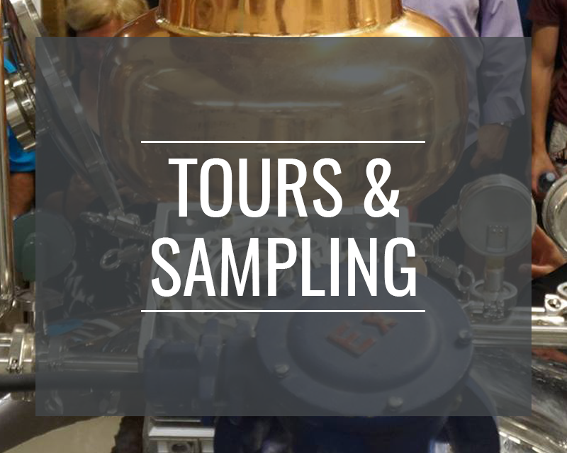 Tour and sampling options at Junction 56 Distillery