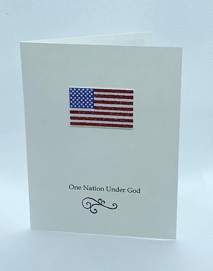 One Nation Under God - Flag