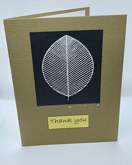 White Leaf Thank You