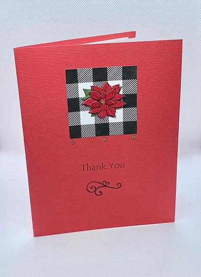 Poinsettia - Thank You