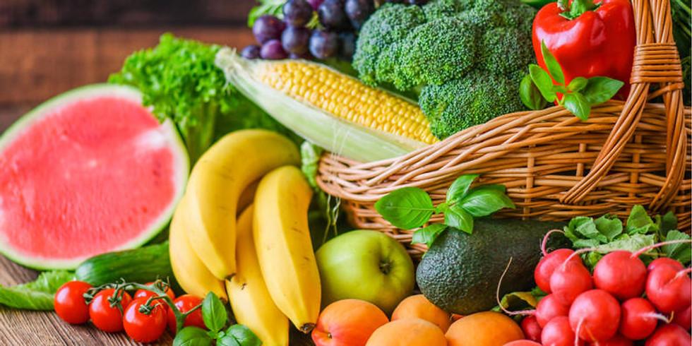 30% Descuento en frutas y vegetales