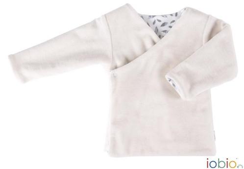 Giacchina in ciniglia di cotone a kimono | PannolinofeliceShop ...