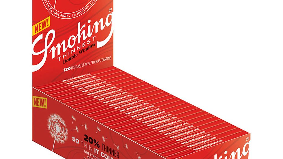 Smoking Thinnest Regular 50's
