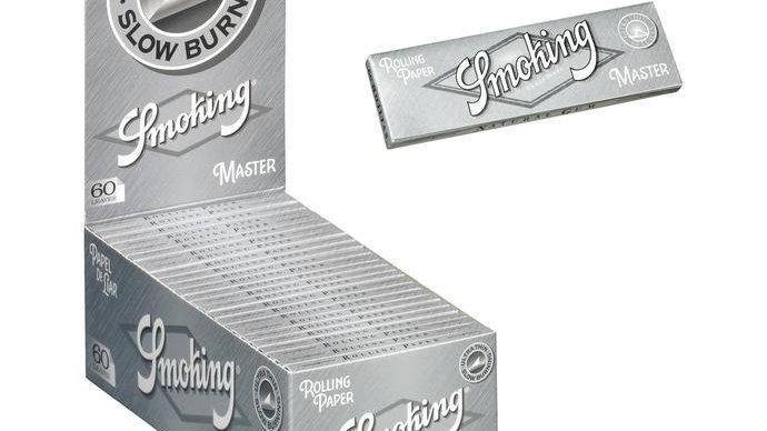 Smoking Master Single Silver 50's