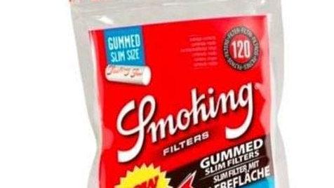 Smoking Filter tips Gummed slim