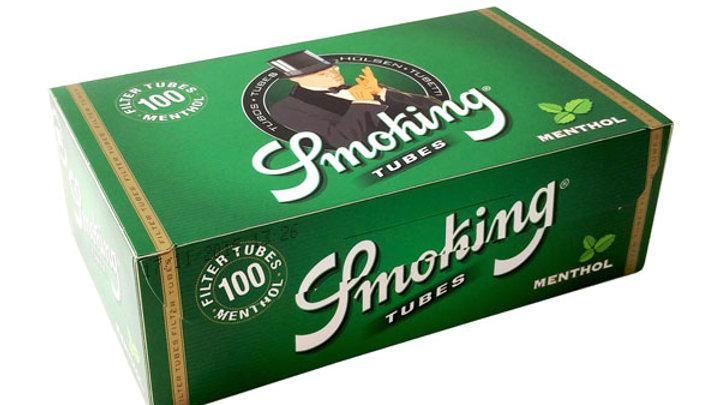 Smoking Tubes Menthol 100's