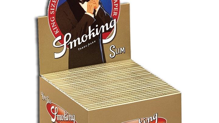 Smoknig King Size Slim Gold 50's