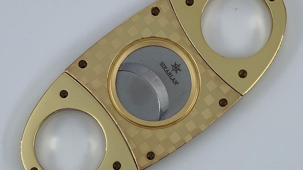 Allways Cigar Cutter Gold Net Design