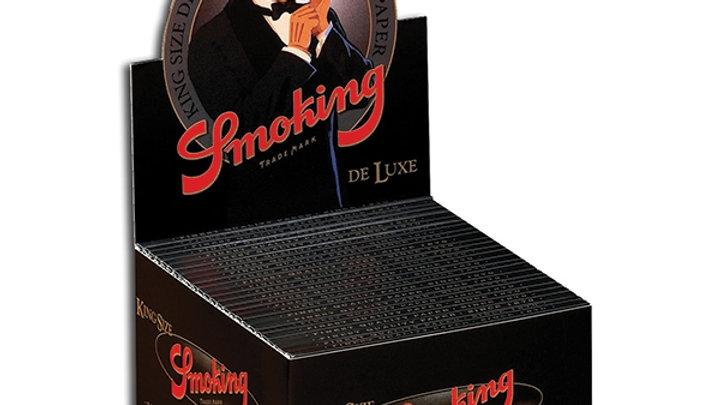 Smoking King Size De Luxe Black 50's