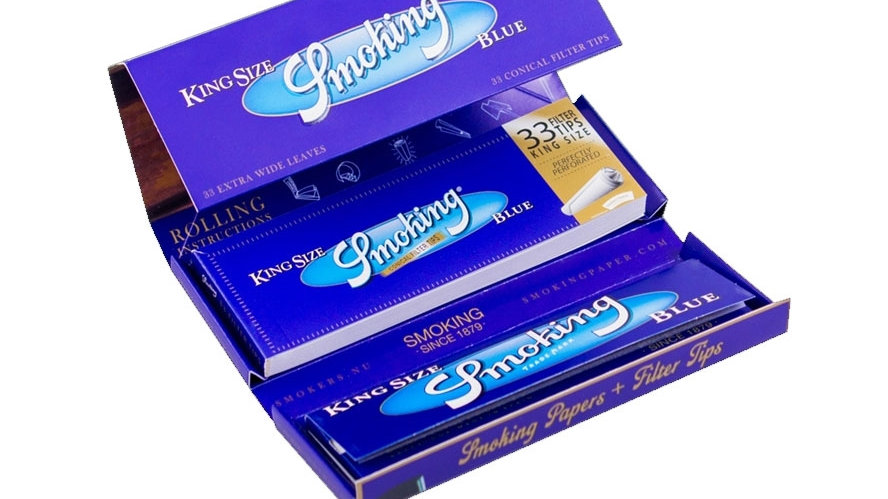 Smoking Luxury Blue kit XL's