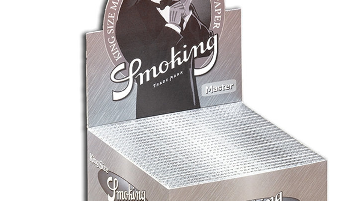 Smoking King Size Master Silver 50's