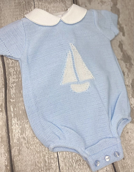 Sailor Boat Romper
