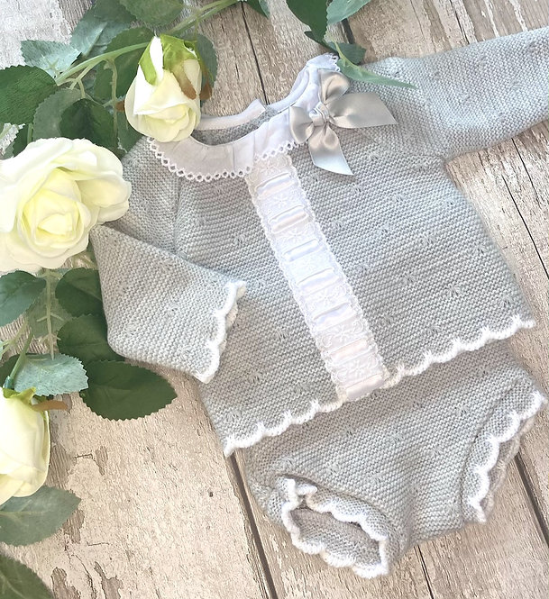 Bow and Cable Jam Pant Set