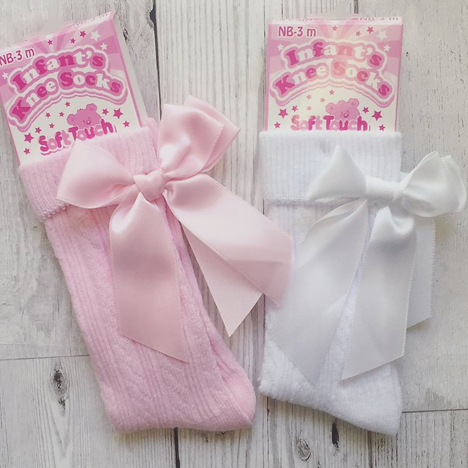 Knee High Bow Sock