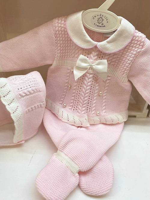 Pearl Knitted Set