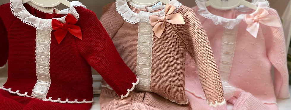 Dusty Pink Frilly Collar Legging Set