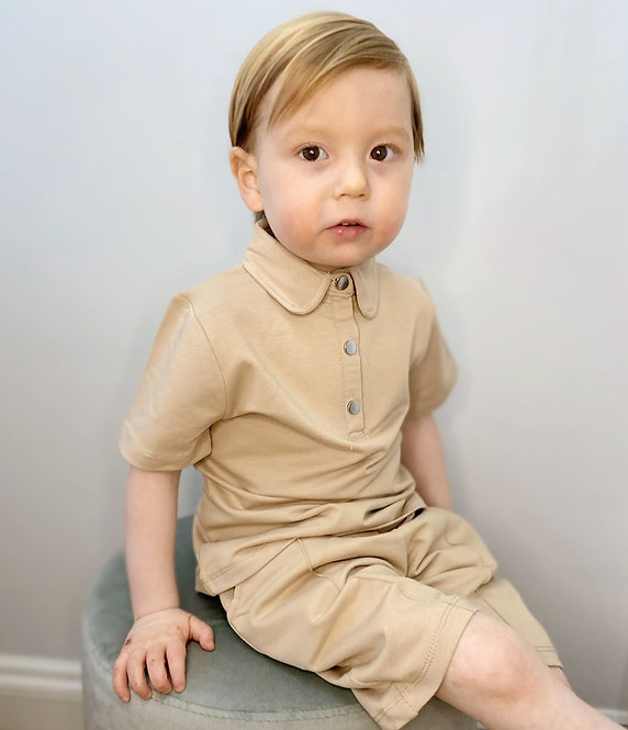 Polo Shirt and Short Set