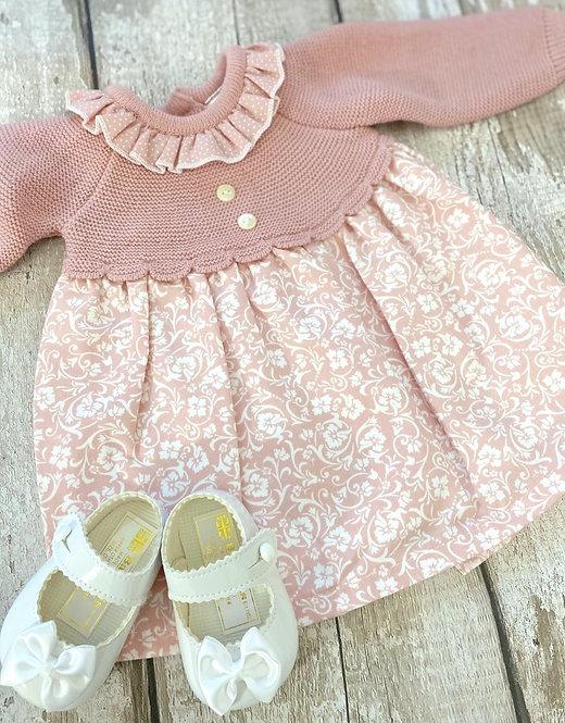 Woven Floral Dress