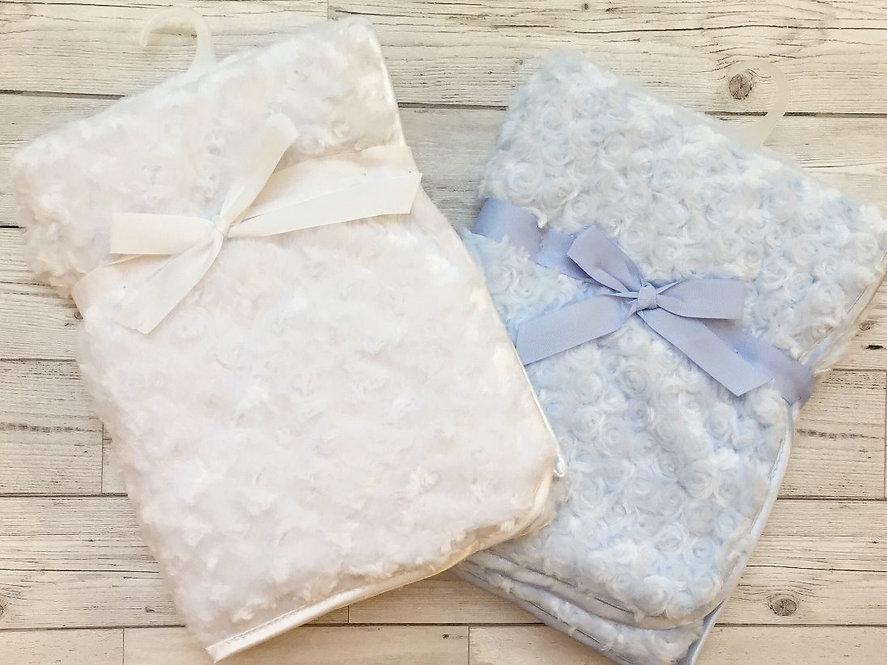 Rosebud Fur Blanket