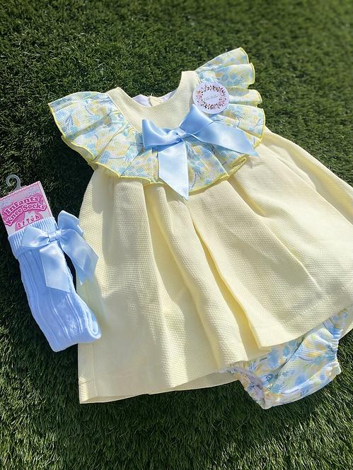 Lemon and Floral Dress
