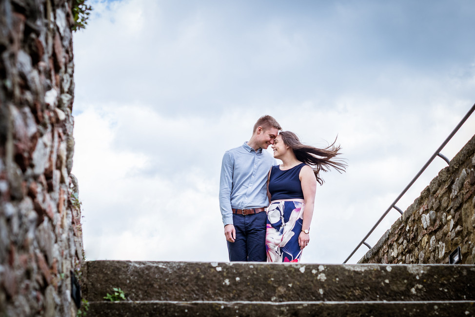 Adrienne + Evigeny | Engagement Session in Anghiari (Arezzo)