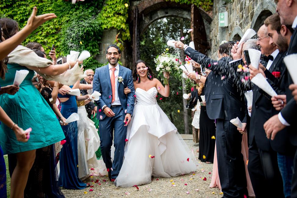 Tala + Jad | Wedding at Castello di Vincigliata, Firenze
