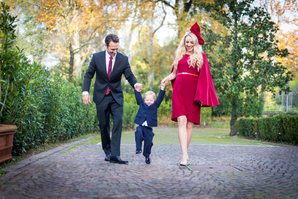 Family Session at Villa Cora in Florence