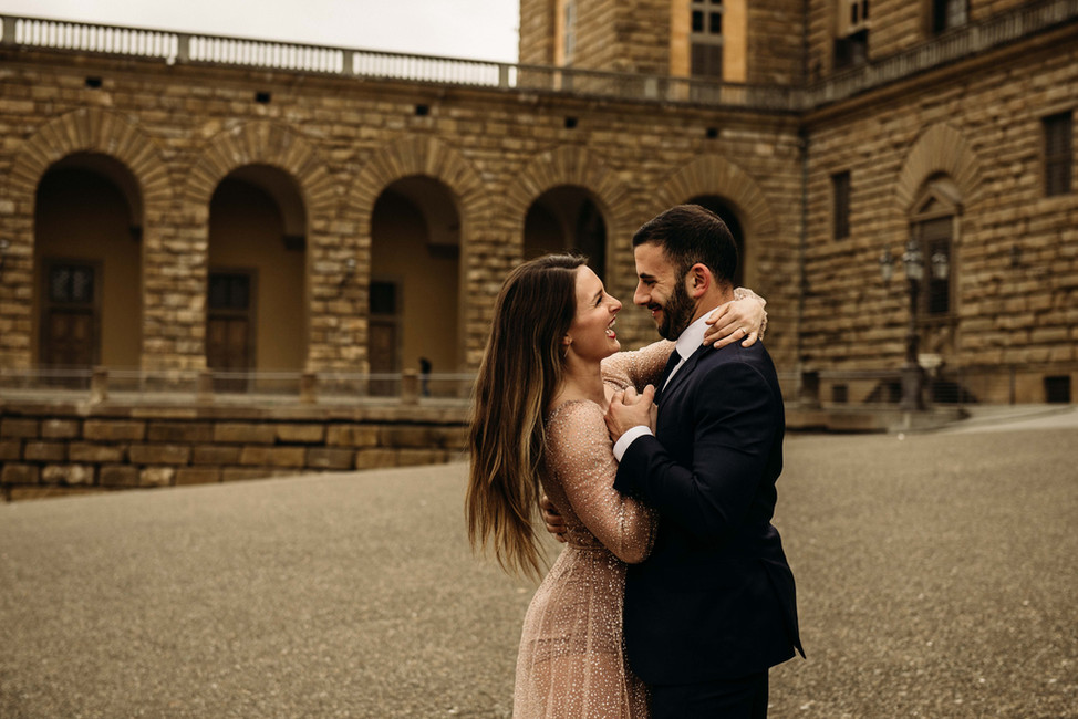 JESSICA + JOHN | Engagement Session in Florence
