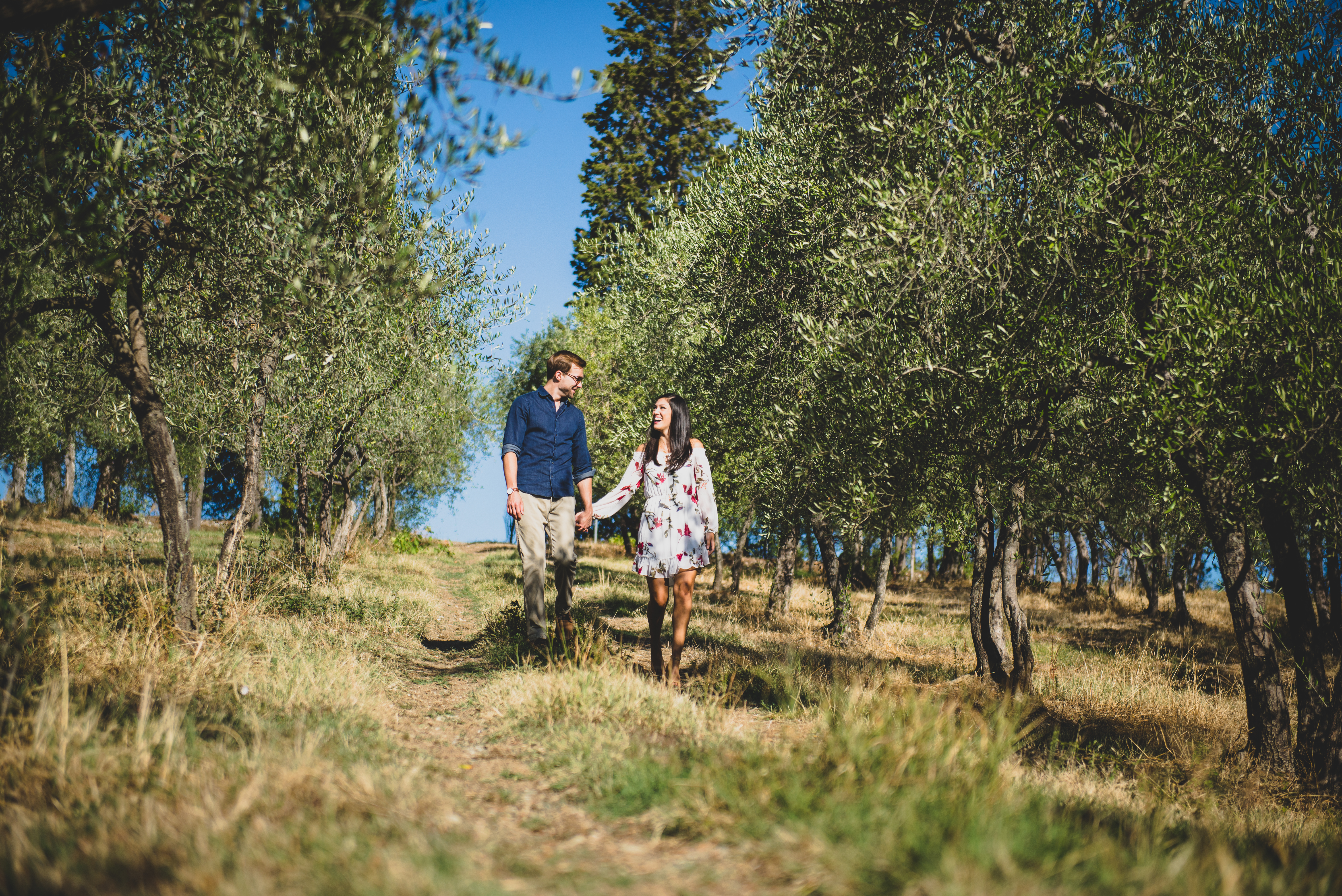 engagement session countryside