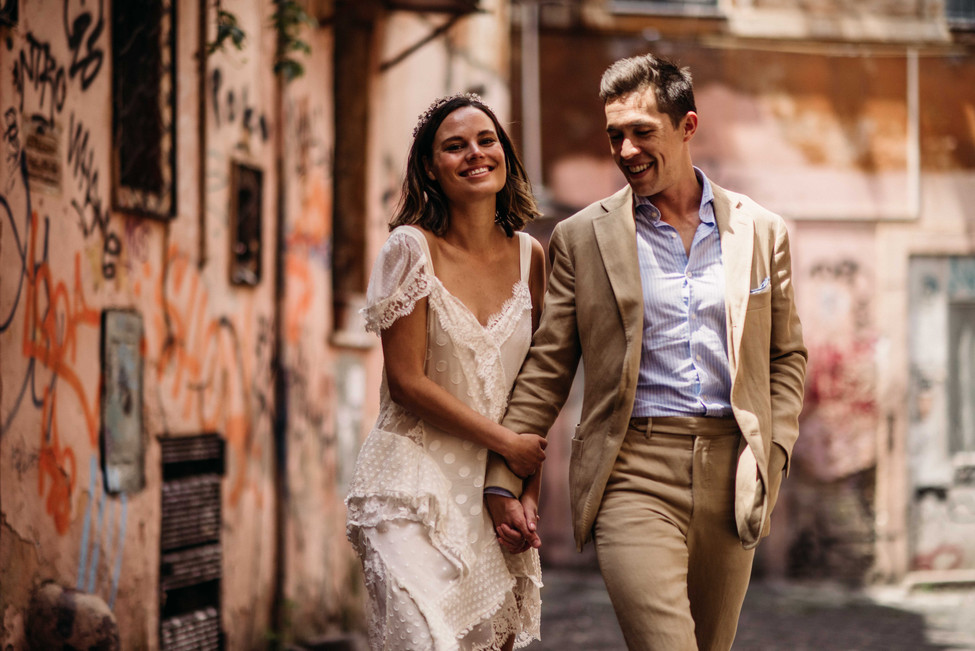 SALLY + GUY | Engagement in Rome