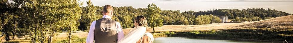 Foto di fiori matrimonio toscana