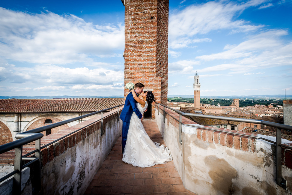 Luk + Nick | Wedding in Siena
