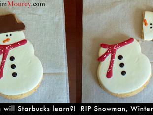 Starbucks Attacks Again: The Return of the Bloody Snowman 2013