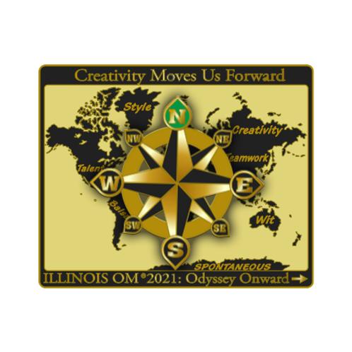 Illinois State Pin