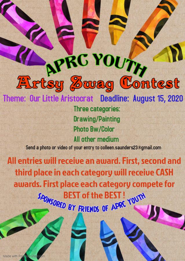 Copy of Art birthday party invitation -