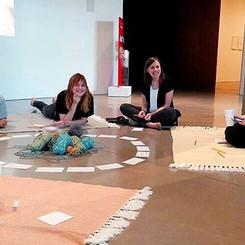 Talking about engaging audiences through performance art under a constructing a narrative theme. 😬🎨👏🏼_📸_ _erinowenart ._._._._.jpg
