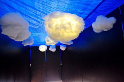 Head In The Clouds ☁️ Installation by The Collective for THIRD EYE_ Teen Night 😱☁️☁️☁️💨🌪✨ ._._.__
