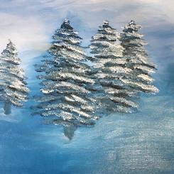 I really love teaching oil painting 💕🎨 This last week we worked on a winter scene ❄️ 🌲 ._._._._._._.jpg