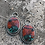 Thumbnail: Sonoran Sunrise and Fine/Sterling Silver Earrings