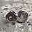 Thumbnail: Sterling Silver Swirl Post Earrings