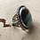Thumbnail: Indonesian Opalized Wood and Fine/Sterling Silver Ring (size 8.75)