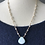Thumbnail: High Grade Larimar, Clear Cracked Quartz & 14k GF Earrings and Necklace Set