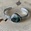 Thumbnail: Indonesian Opalized Wood with Native Copper and Fine/Sterling Silver  Cuff